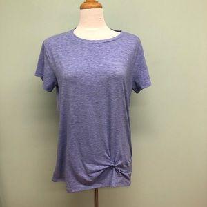 CloudVeil   Women's Twist T-Shirt   Purple